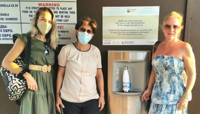 Cyprus's first plastic-free beach
